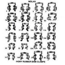 Ivory Rubber Dam Clamps