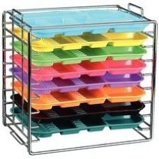 Chrome Tray Rack